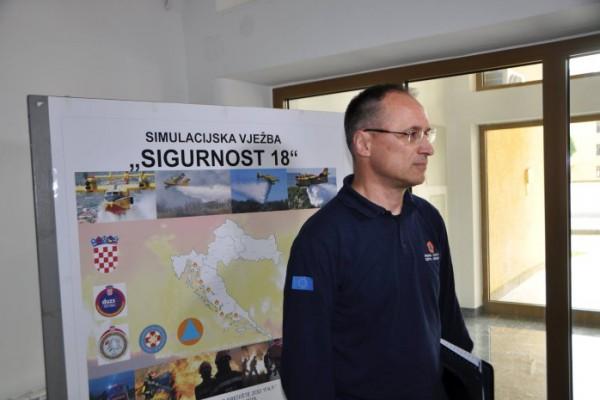 Održan simulacijski dio vježbe Sigurnost 2018