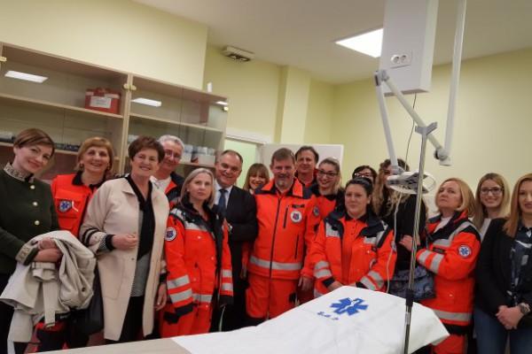 Obnovljena ispostava Trogir Zavoda za hitnu medicinu Splitsko-dalmatinske županije