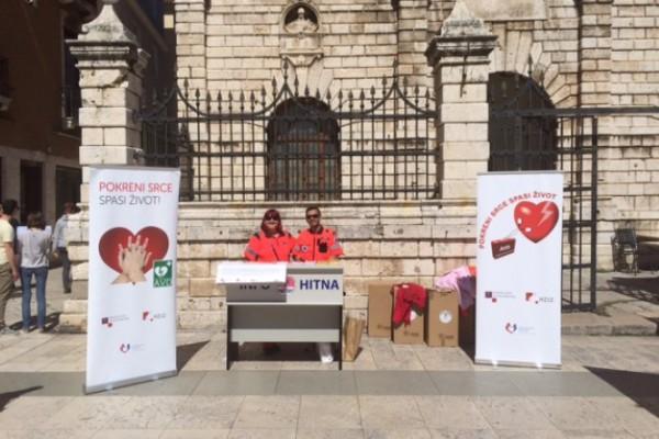 "Promocija programa ""Pokreni srce-spasi život"" u Zadru"