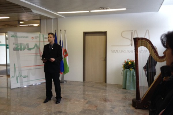 Otvoren Simulacijski centar u ZD Ljubljana