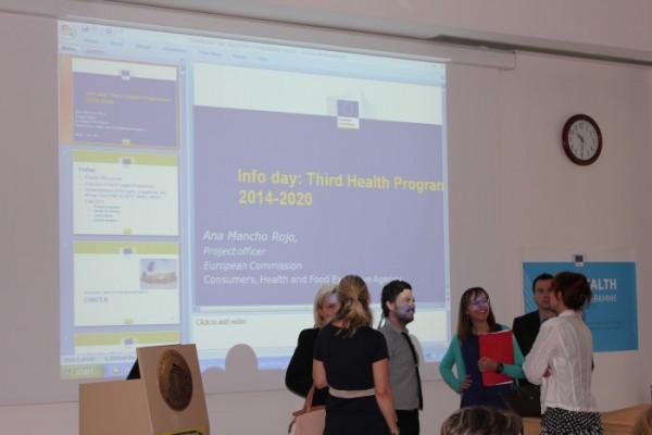 Info dan o Trećem programu djelovanja unije u području zdravlja 2014. – 2020.