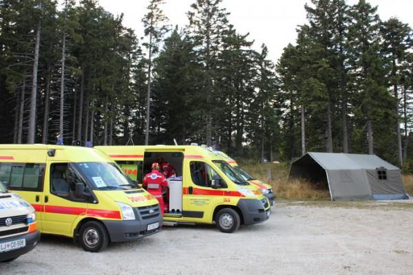Hrvatski timovi na međunarodnom natjecanju timova hitne medicinske službe u Sloveniji