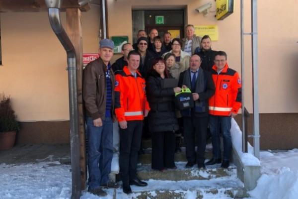 Općina Saborsko dobila AVD uređaj