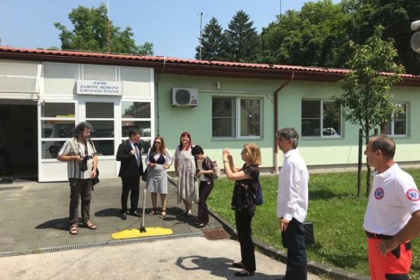 Delegacija Svjetske banke posjetila karlovački Zavod za hitnu medicinu