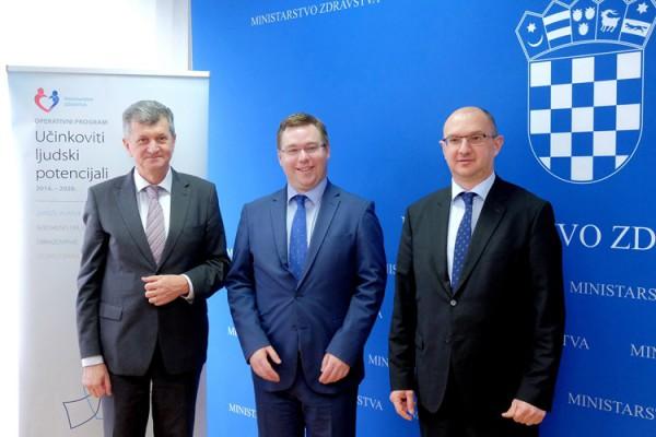 Sklopljeni ugovori za početak EU projekta Specijalističko usavršavanje doktora medicine