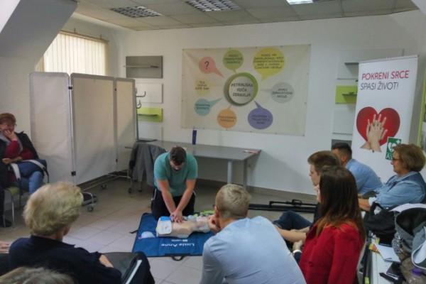 U Petrinji održana još jedna radionica Oživljavanje u zajednici