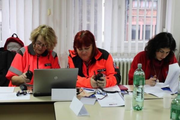 """Održana uredska simulacijska vježba zaštite i spašavanja """"Pad zrakoplova 2015."""""""