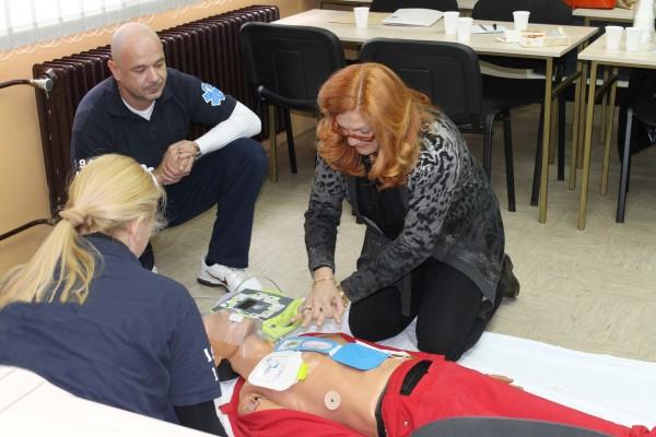 """U Ludbregu promoviran program """"Pokreni srce-spasi život"""""""