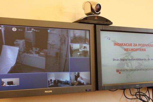Otočki liječnici upoznali se s indikacijama za pozivanje helikoptera