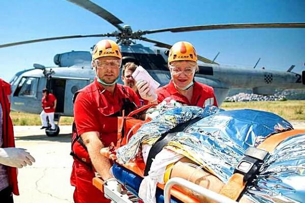 Hitna helikopterska medicinska služba zbrinula 980 hitnih pacijenata u 2017. godini