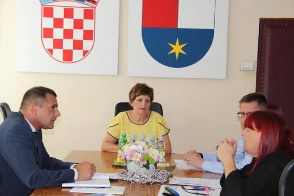 Ravnateljica HZHM-a održala sastanak sa županom Međimurske županije