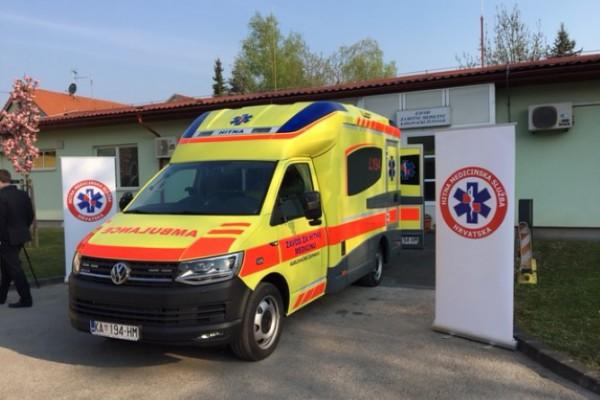 Zavod za hitnu medicinu Karlovačke županije dobio modularno vozilo