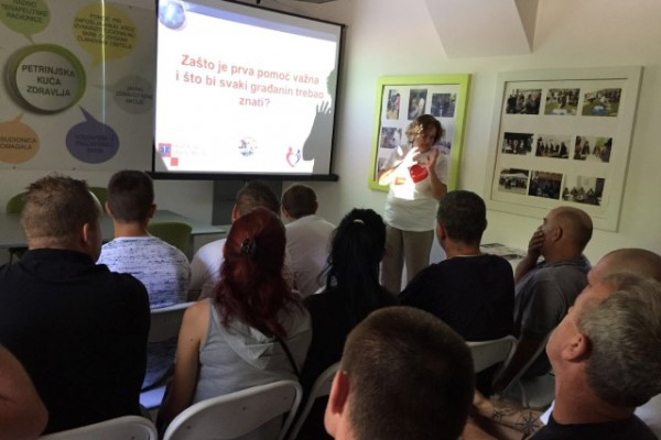 Radionica Oživljavanje u zajednici ponovo u Petrinji