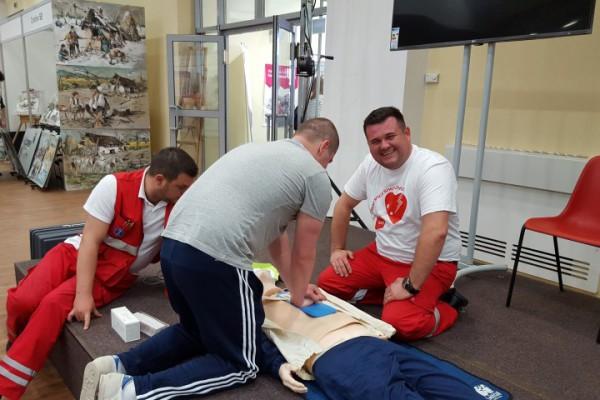 Radionica Oživljavanje u zajednici na Sajmu zdravlja u Vinkovcima