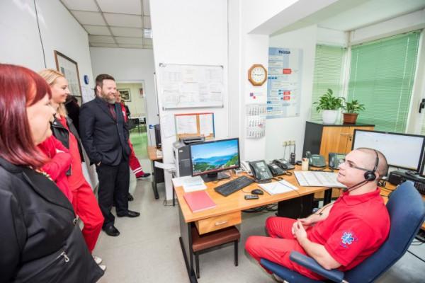Nacionalni dan HMS-a zajednički obilježili djelatnici ZHM-a Karlovačke županije i OHBP-a Opće bolnice Karlovac
