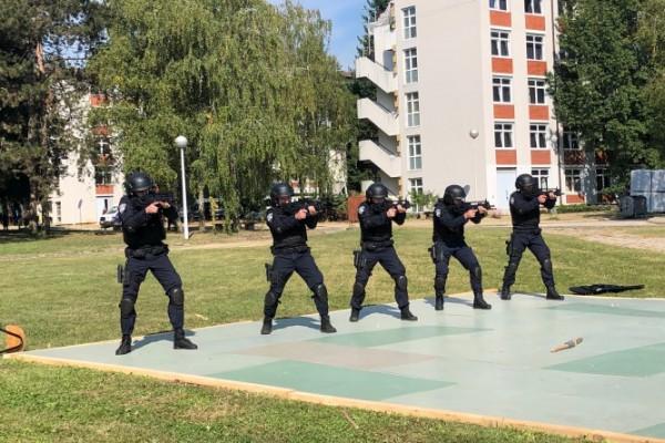 Hitna na Godišnjoj vježbi interventne policije