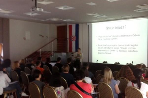 Edukacija djelatnika bolničkih odjela hitne medicine
