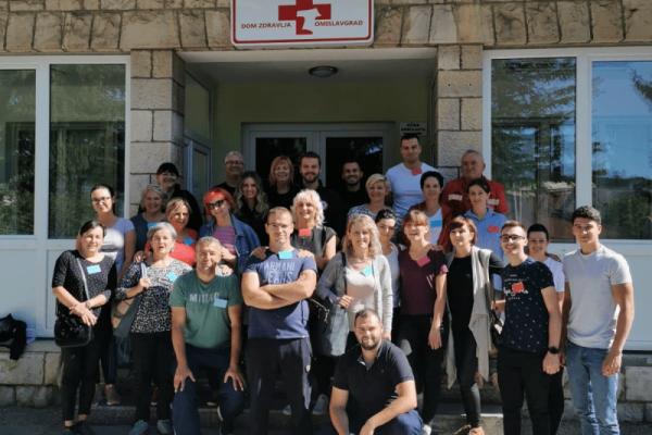 HZHM educirao djelatnike Doma zdravlja Tomislavgrad