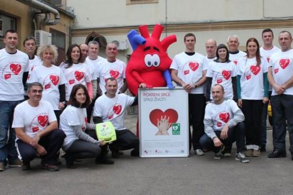 "Stanica planinarskih vodiča Karlovac HPS podržala program ""Pokreni srce-spasi život"""