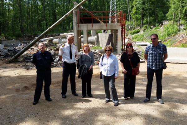Ravnateljica HZHM-a posjetila Vatrogasni trenažni centar Šapjane