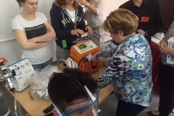 Održan tečaj Održavanje dišnog puta i mehanička ventilacija u hitnoj medicini