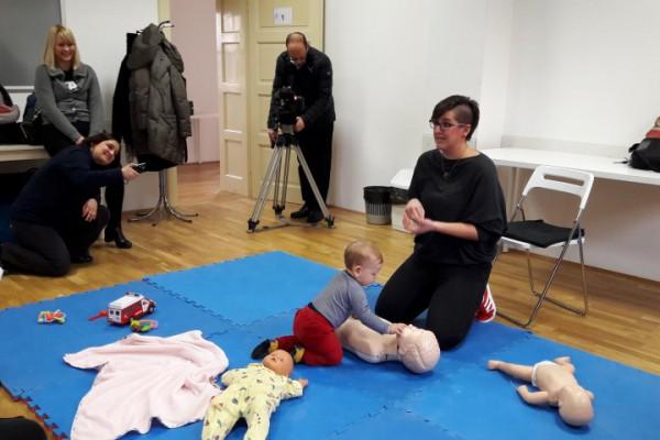 Održana radionica o hitnim stanjima kod djece