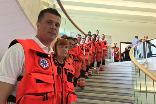 Na Danima otvorenih vrata predsjednice RH sudjelovali djelatnici HMS-a