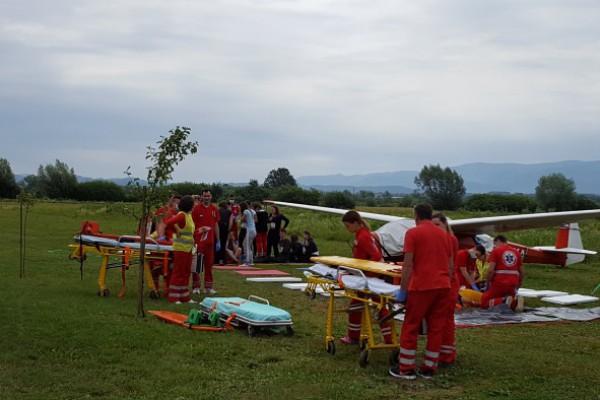 Zavod za hitnu medicinu Krapinsko-zagorske županije održao vježbu masovne nesreće Gubaševo-Zabok 2017.