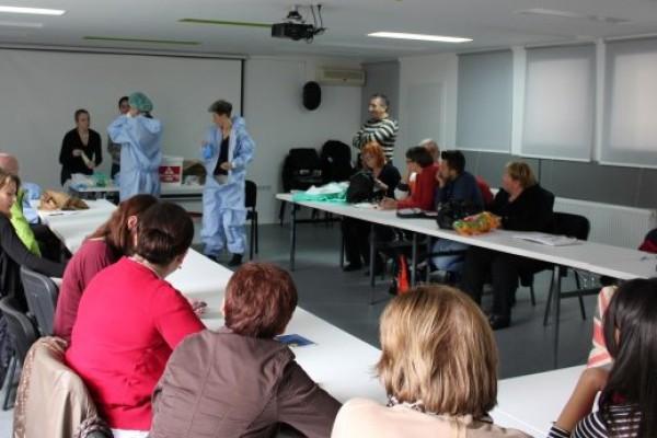 Održana edukacija o korištenju zaštitne opreme u slučaju ebole