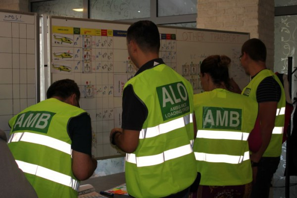 Trening zbrinjavanja masovne nesreće: Medical Response to Major Incidents