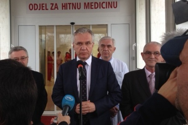 Otvoren Odjel hitne medicine u Općoj županijskoj bolnici Požega