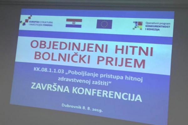 Otvoren Objedinjeni hitni bolnički prijem u Općoj bolnici Dubrovnik