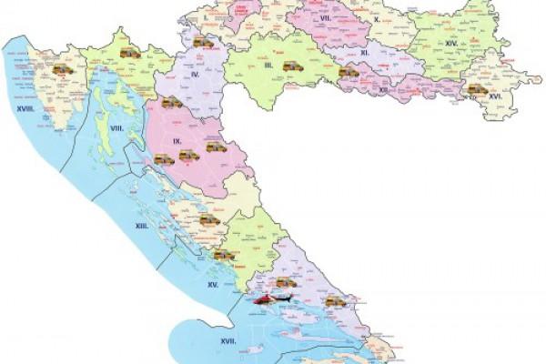 Na hrvatskim cestama dežuraju dodatni prometni timovi hitne medicinske službe