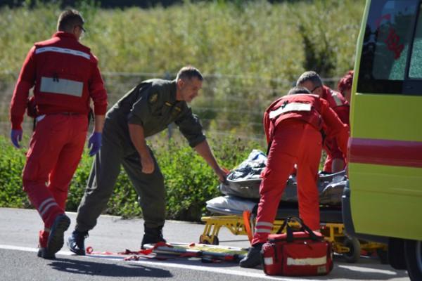 Vježba sigurnog pristupa i prijevoza pacijenata helikopterom