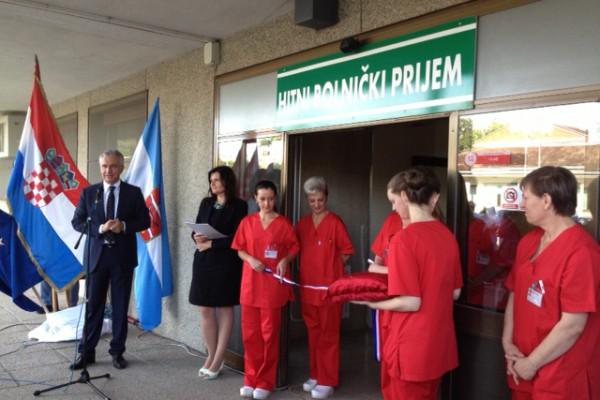 Ministar zdravlja otvorio objedinjeni hitni bolnički prijem u OB Virovitica