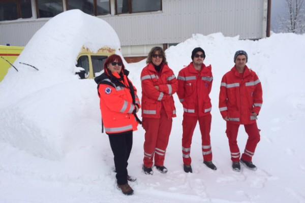 Unatoč snijegu, delnički tim HMS-a na terenu besprijekoran