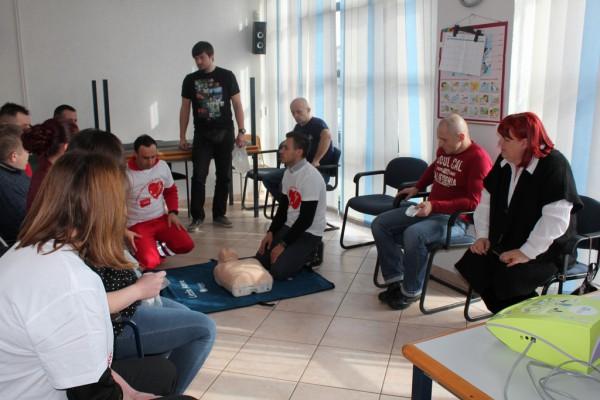 """Oživljavanje u zajednici - Međimurska županija - """"Pokreni srce-spasi život"""""""