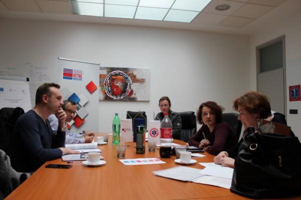 Održani završni sastanci prve faze projekta Kontinuirano stručno osposobljavanje radnika u djelatnosti hitne medicine