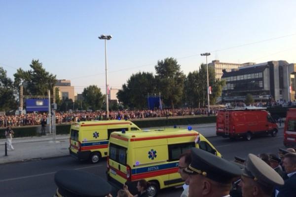 Hitna medicinska služba na proslavi Oluje u Zagrebu