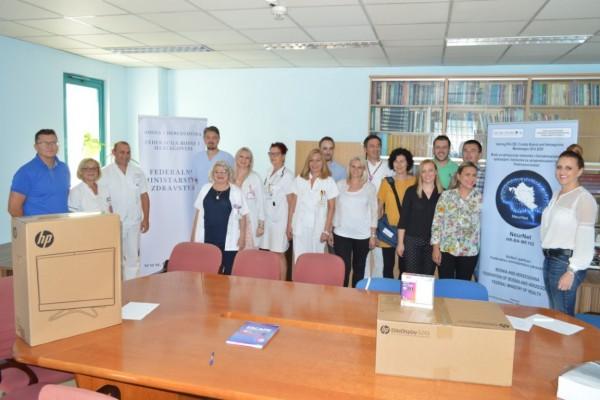 Opremu u sklopu projekta NeurNet dobila bolnica u Tuzli