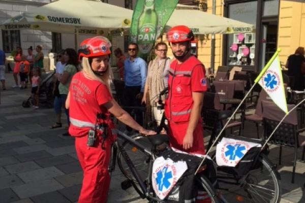 Varaždin tijekom Špancirfesta dobio Hitnu na biciklima – Varaždin kao London