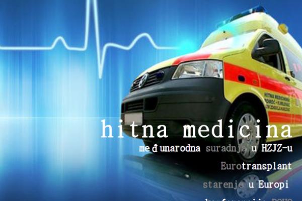 U fokusu EU biltena Ministarstva zdravstva hitna medicina