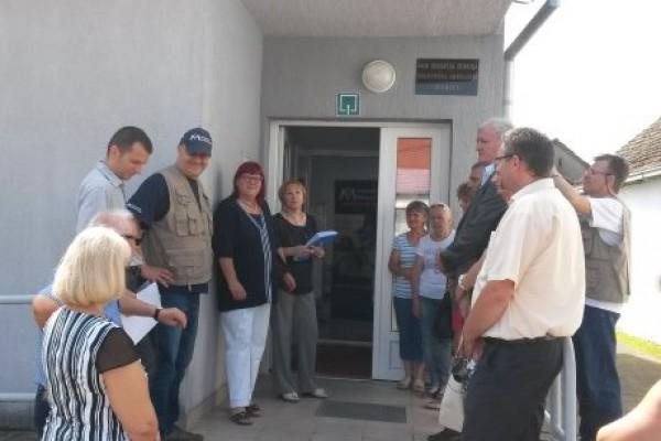 Donirana oprema ambulanti Đurići-Račinovci Doma zdravlja Županja