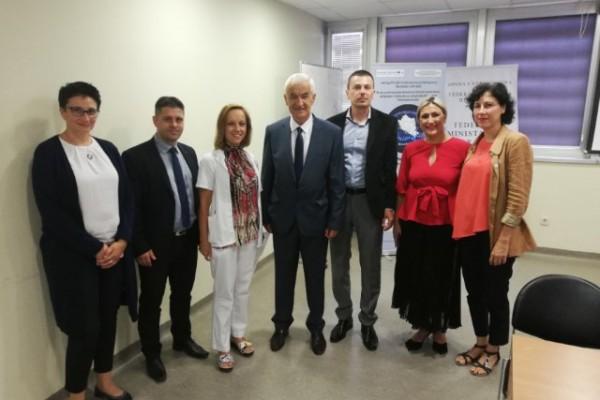 Mostarskoj bolnici uručena oprema u sklopu projekta NeurNet