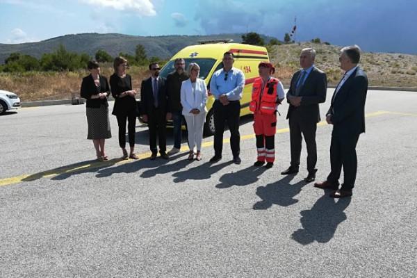U turističkoj sezoni Zavod za hitnu medicinu Dubrovačko-neretvanske županije pojačan s dva nova vozila i helikopterom