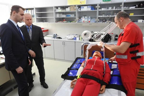Otvoren Nastavni centar za izvanbolničku hitnu medicinu u Ludbregu