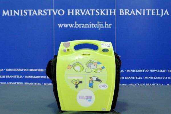 Pušten u rad AVD uređaj u zgradi Ministarstva hrvatskih branitelja i Ministarstva za demografiju, obitelj, mlade i socijalnu politiku