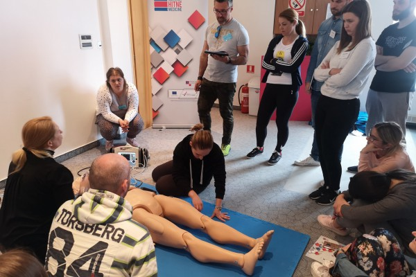 EP2 training programme exercise for doctors and nurses