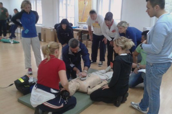 Edukacija zdravstvenih djelatnika MORH-a