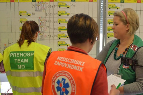 Održan tečaj zbrinjavanja masovne nesreće Medical Response to Major Incidents